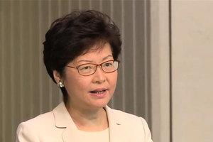 林鄭指「港獨」非言論自由問題 不再發表評論