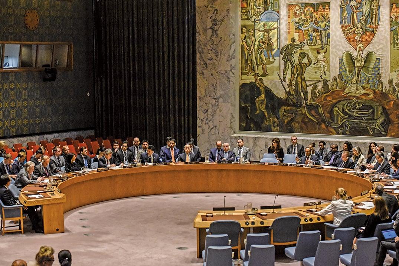 聯合國安理會周一(9月11日)一致通過了有史以來最嚴厲的對北韓制裁,以懲罰北韓的第六次核試驗。(Getty Images)