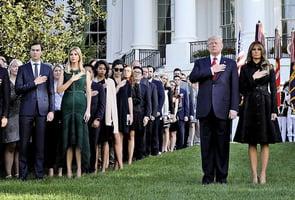特朗普主持911紀念式:那一刻我們都變了