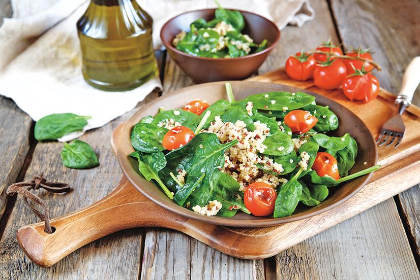 將藜麥加入你的自製沙律,能提高餐點的營養成份。
