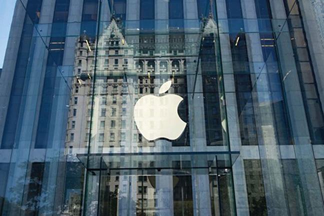 蘋果公司(Apple)將在9月12日舉行產品發佈會,預計發佈3款iPhone。圖為紐約5大道的蘋果旗艦店。(Getty Images)