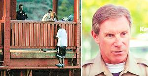 金門橋畔巡邏23 年警官救下數百欲輕生者
