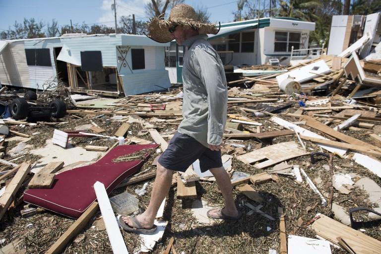 艾爾瑪災後清點 佛羅里達礁島群四分一民宅被毀