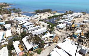 艾瑪肆虐佛羅里達州 礁島群1/4民宅被毀