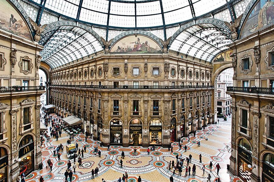 古典與時尚的完美交融 行走意大利之米蘭