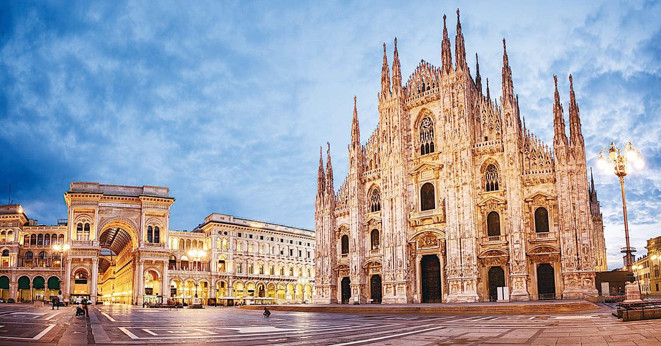 米蘭主教座堂(Duomo di Milano,又稱米蘭大教堂)。(Fotolia)