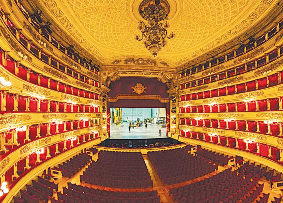 斯卡拉大劇院(Teatro alla Scala)。(shutterstock)