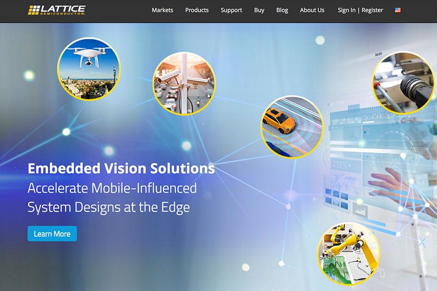 萊迪思半導體公司是屈指可數的能生產可編程邏輯晶片(FPGAs)的廠商之一。(網頁擷圖)