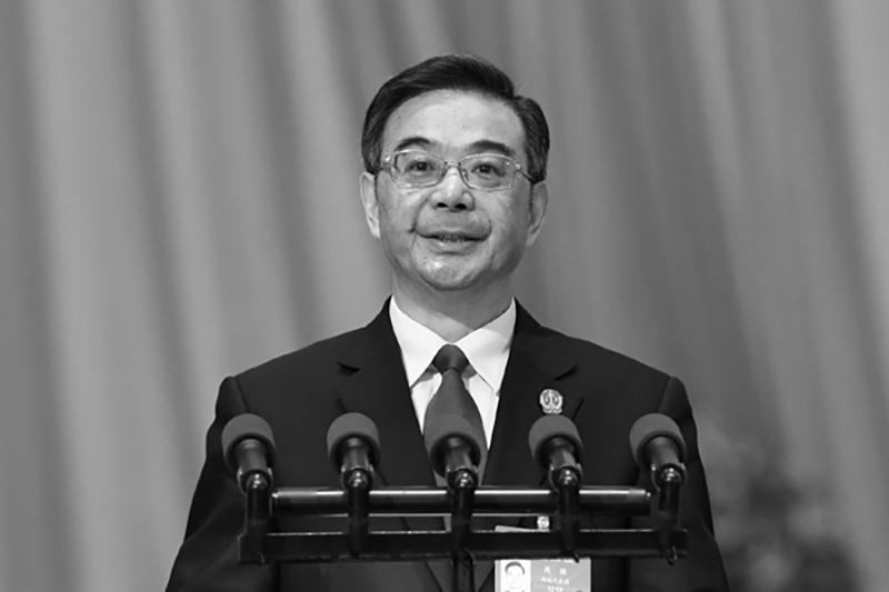 2013年衡陽賄選案發期間,時任湖南省委書記為周強。(網絡圖片)
