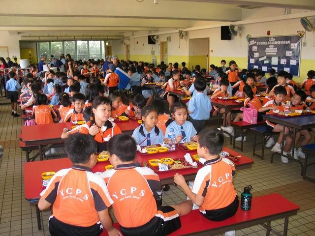 440間小學參與「學校午膳減鹽計劃」