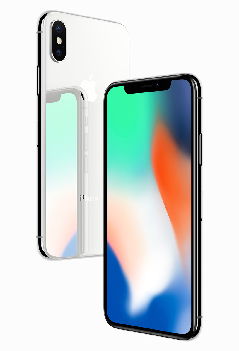 iPhone問世十年的特別款iPhone X。(Apple官網)