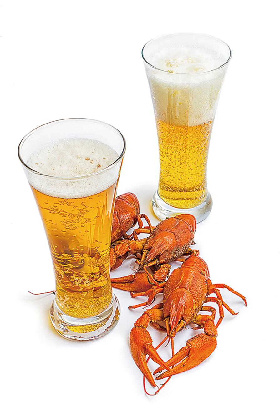 啤酒配龍蝦 當心痛風急性發作