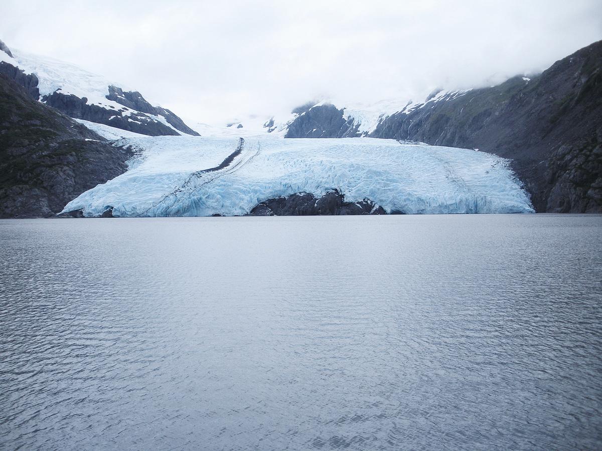 波蒂奇冰川(Portage Glacier)。(Josette/Wikipeida)