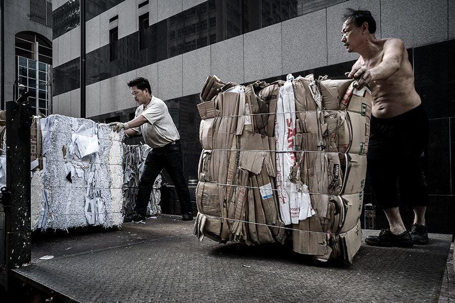 部份回收商停收廢紙 環保署食環署制定臨時應對措施