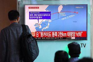 北韓一個月內連射二枚導彈 美國譴責