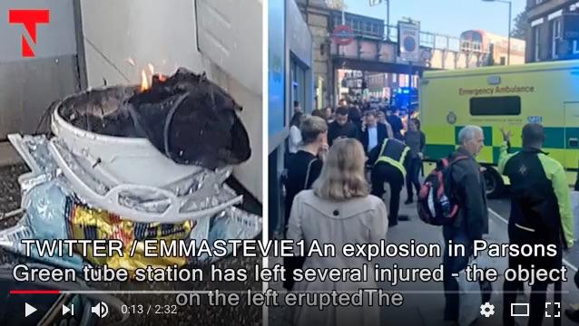 倫敦恐襲29人送醫 受威脅等級升至最高