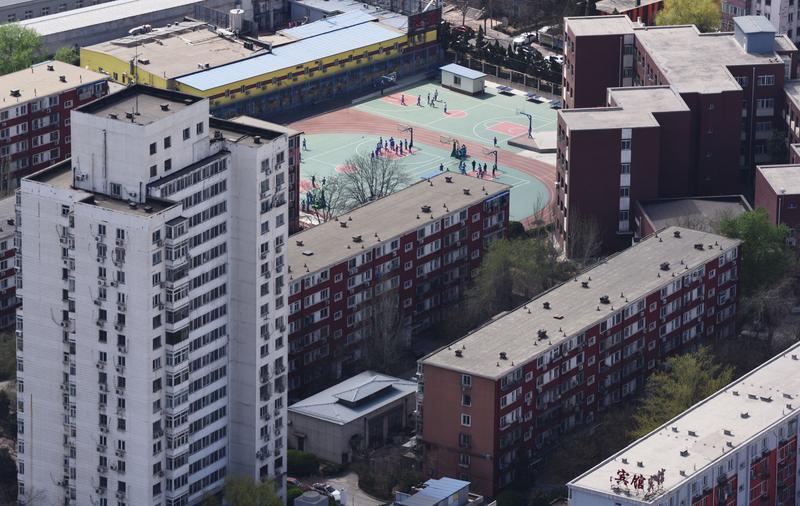 從5月份開始,北京學區房價受調控的影響,一直在下降,有的單價下降了人民幣5萬元之多。(大紀元資料室)