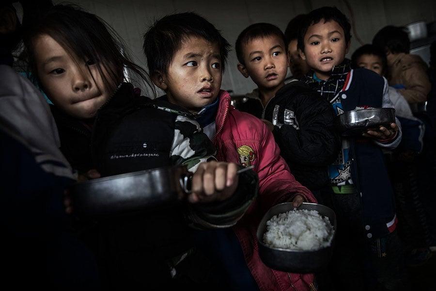中國半數農村孩童智力發育遲緩 近三成貧血