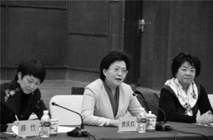 中共重慶市常委組織部長曾慶紅傳被查