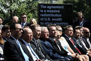 白宮:退出巴黎氣候協定 美國立場沒變