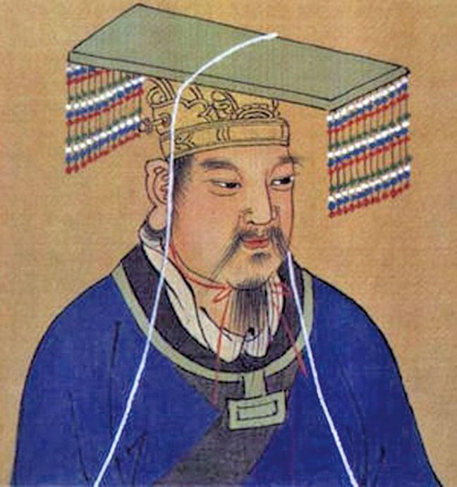 周文王畫像(網路圖片)