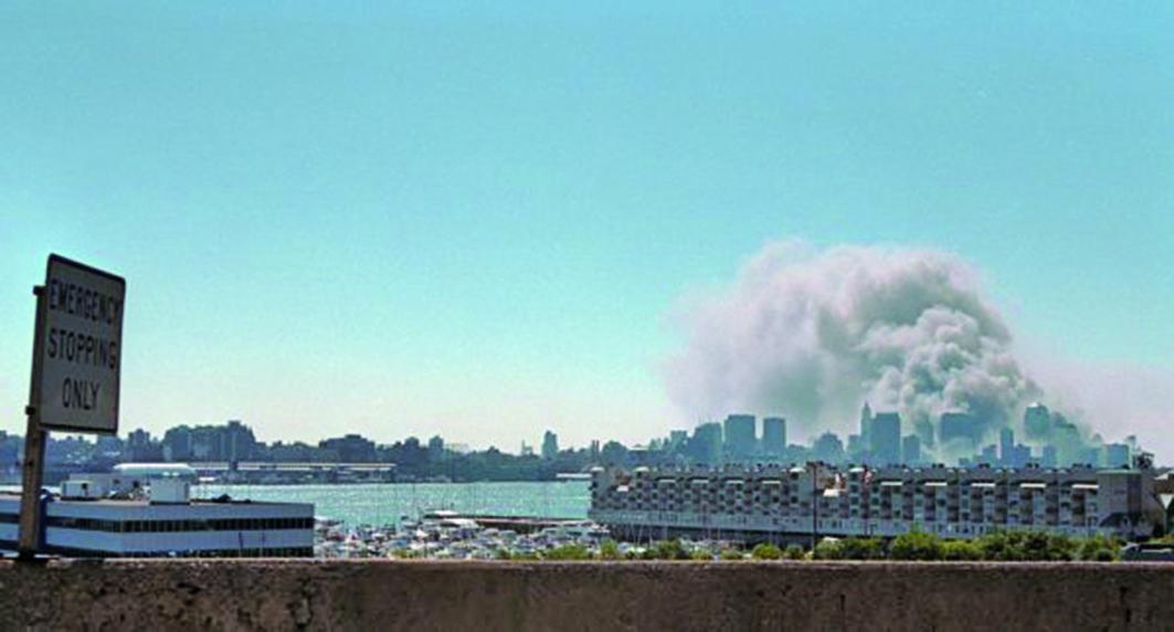 驚心動魄 美國防部發佈9‧11恐襲罕見照片