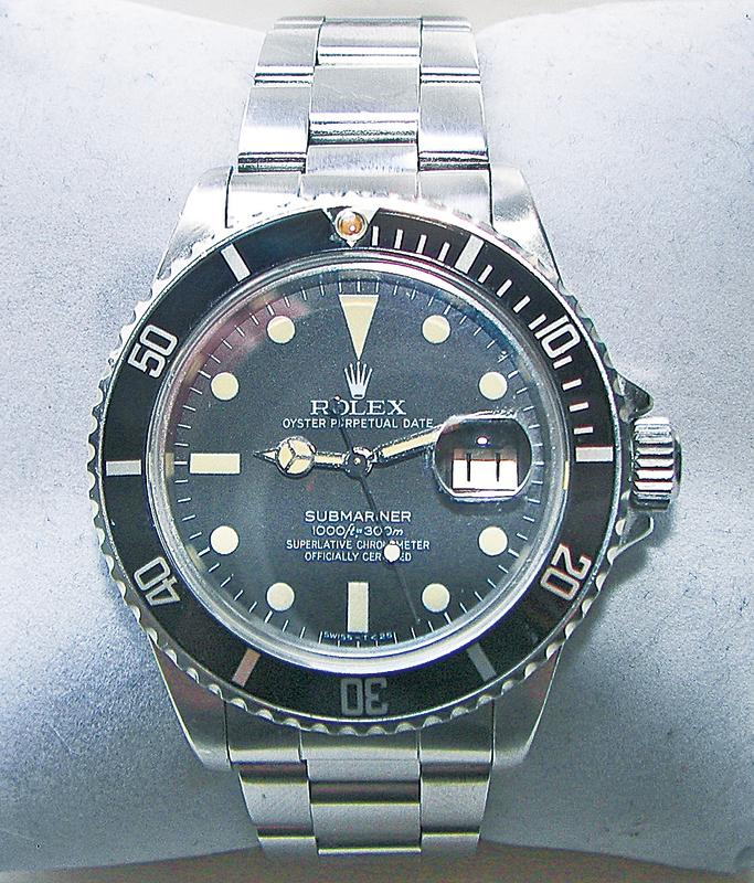 勞力士手錶。(維基百科)