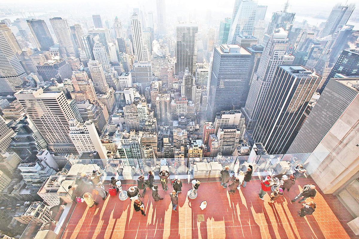 圖為紐約摩天大樓。(Getty Images)