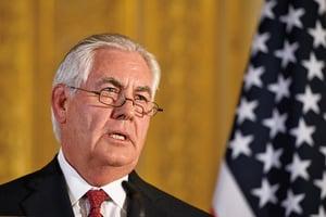 蒂勒森談北韓:若外交失敗 唯有軍事選項