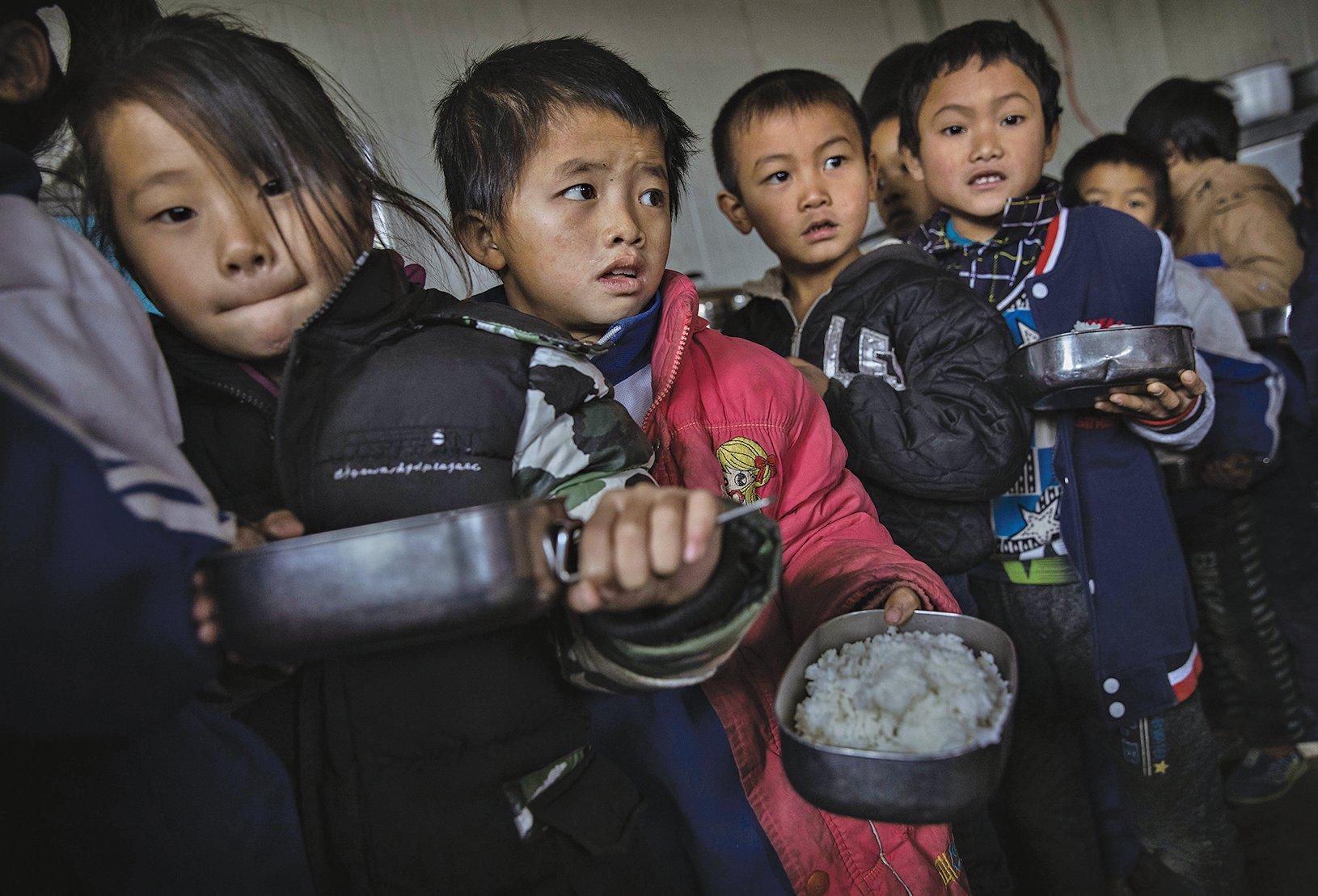 中共統治的中國農村半數以上的孩子智商發育緩慢,未來4到5億中國人可能會有永久性的認知障礙。(Getty Images)