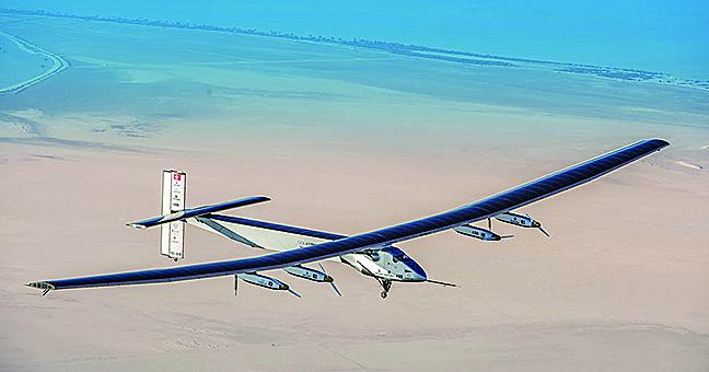 陽光動力號帶領 節能科技飛向未來