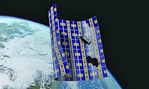 NASA開發二維航天器 捕獲太空垃圾