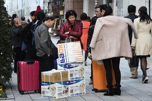 大陸旅行社被通知減少組團赴日