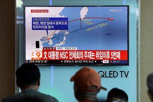 安倍稱和朝對話是死路一條 南韓發戰爭警告