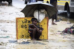 難民危機 洛興雅兒童處境堪慮