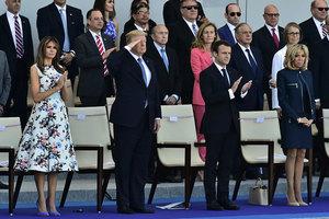 特朗普:想讓美國有真正偉大的閱兵儀式