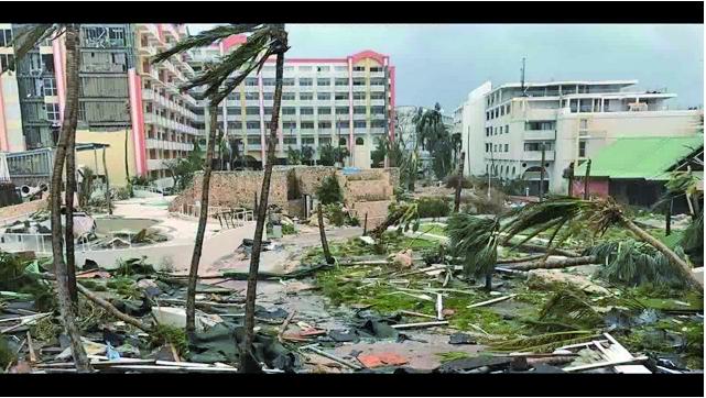 五級颶風再襲多米尼加 總理府屋頂被摧毀