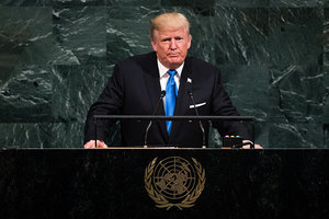 特朗普聯大警告「摧毀北韓」 大陸民間叫好