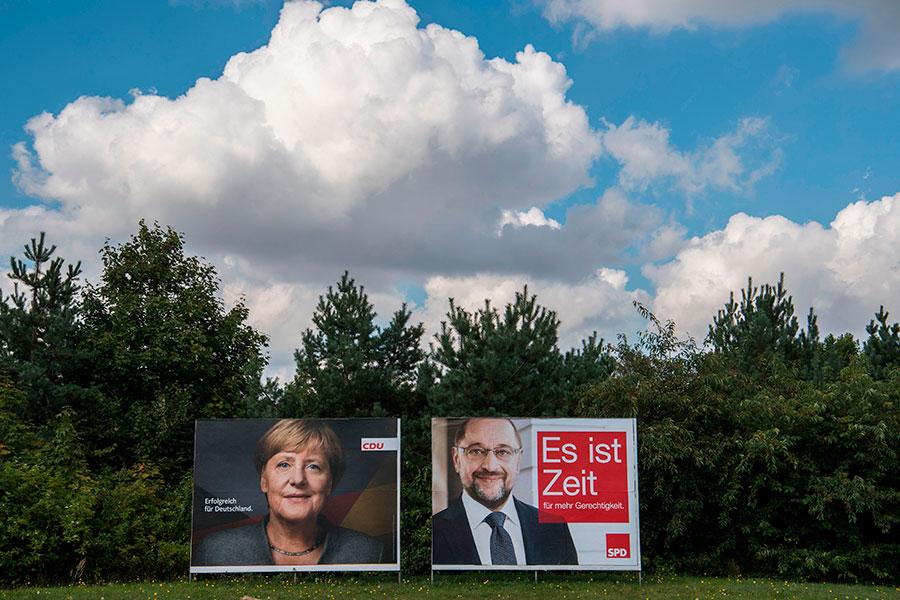 大選就在眼前了,依然有三分之一的選民未做出決定,這也是所有黨派最後表現的機會了。(Sean Gallup/Getty Images)