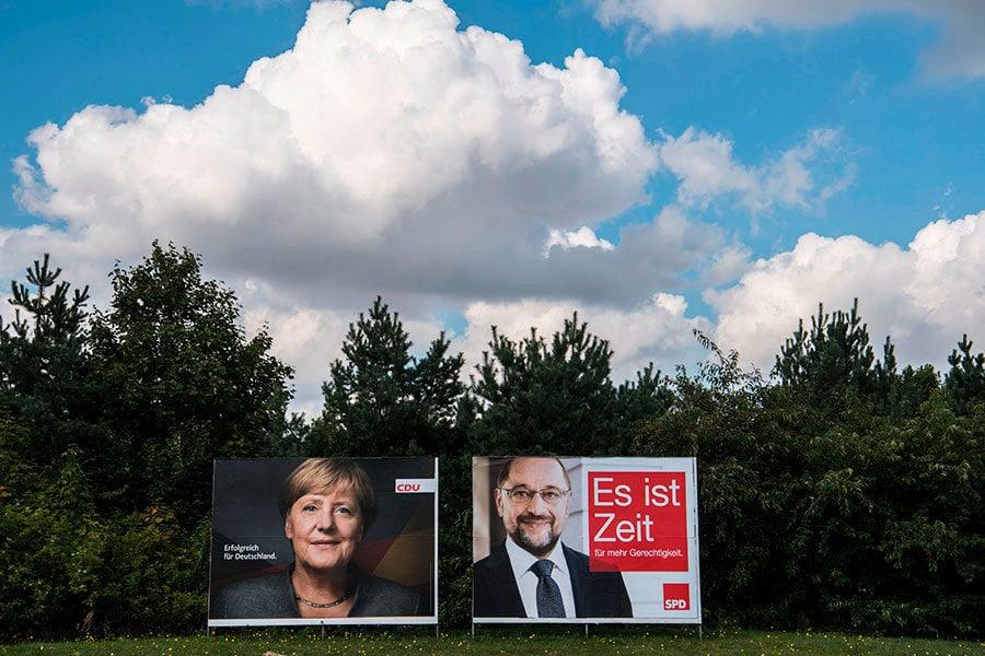 德大選在即 默克爾與舒爾茨接受民眾提問