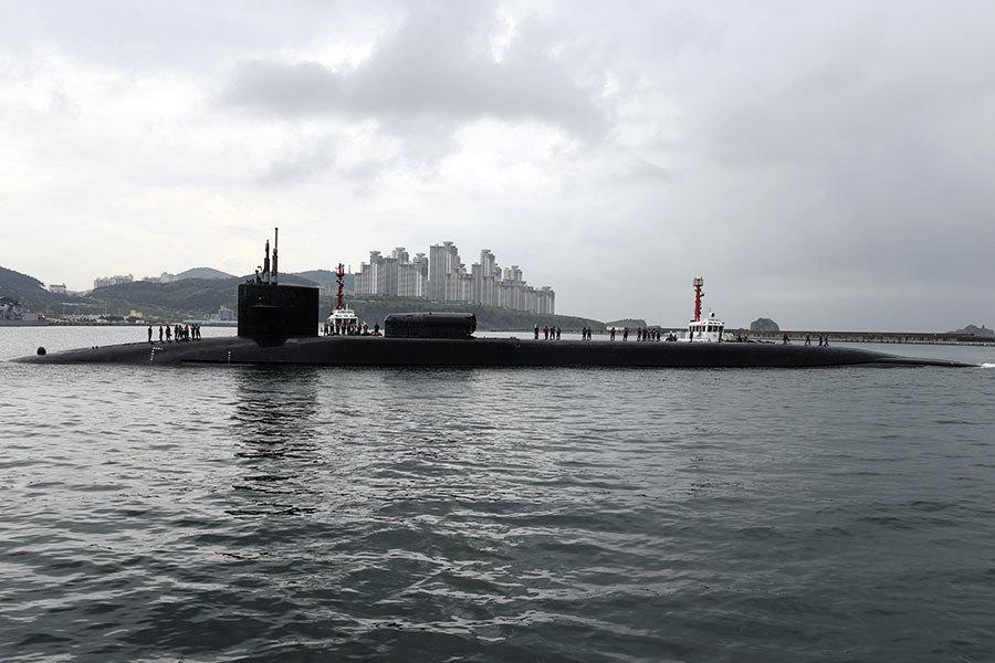 青瓦台否認韓美就引進核潛艦達共識