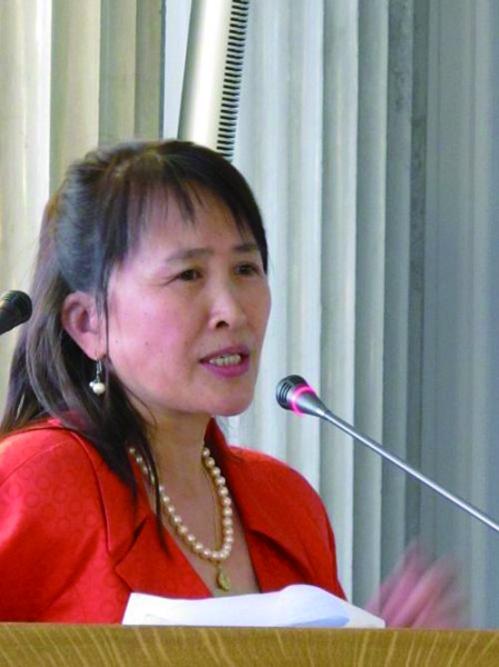 全球退黨服務中心主席易蓉女士(看中國)