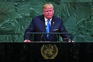 特朗普聯大警告「摧毀北韓」 大陸民間拍手稱快