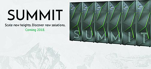 Summit是最高效能的電腦,比最快的筆記本電腦還要快20萬倍,耗電量可供電12,000個家庭。(橡樹嶺國家實驗室)