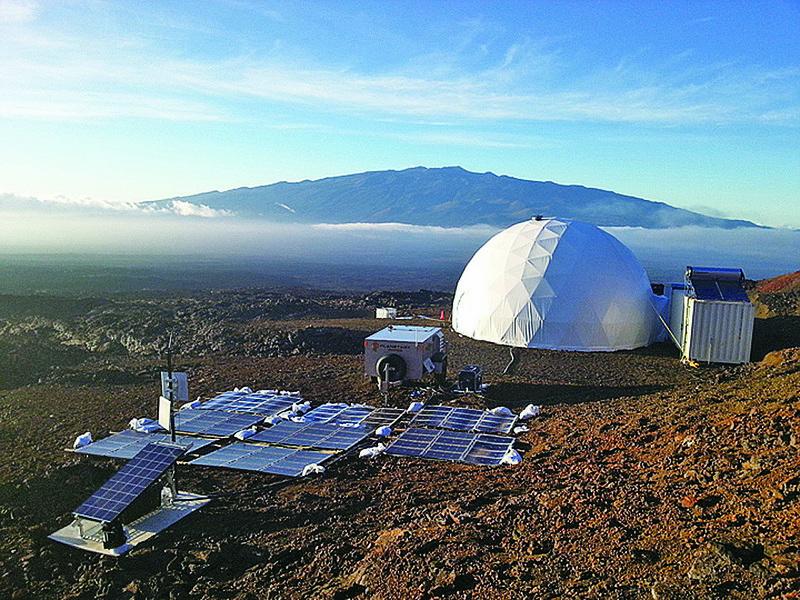 模擬火星生活 研究員8個月後出關