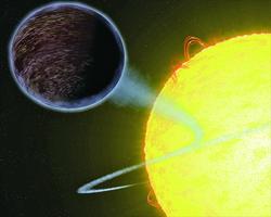 奇異行星不是黑洞 卻「吃掉」光線