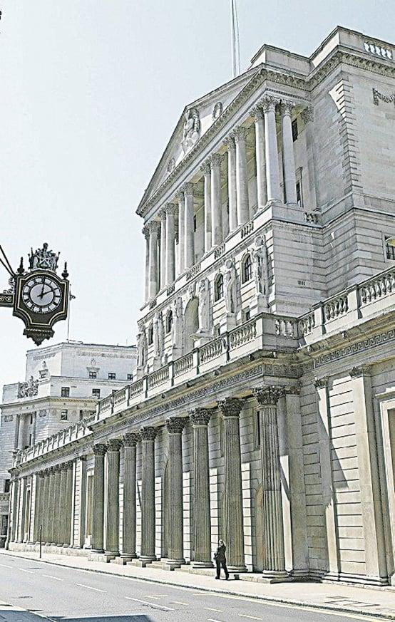 英國的中央銀行——英倫銀行。(網絡圖片)
