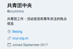 嚴控VPN阻翻牆「共青團中央」悄然入推特