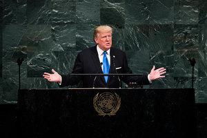 特朗普聯大演講誓摧毀北韓政權 暗批中共