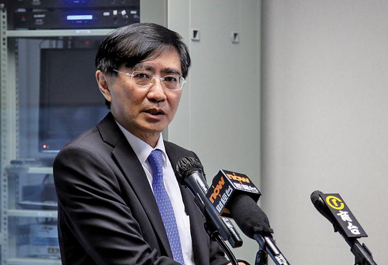 保險索償投訴委員會主席徐福燊表示,引起最多索償糾紛的分別為住院醫療及旅遊保險。(余鋼/大紀元)